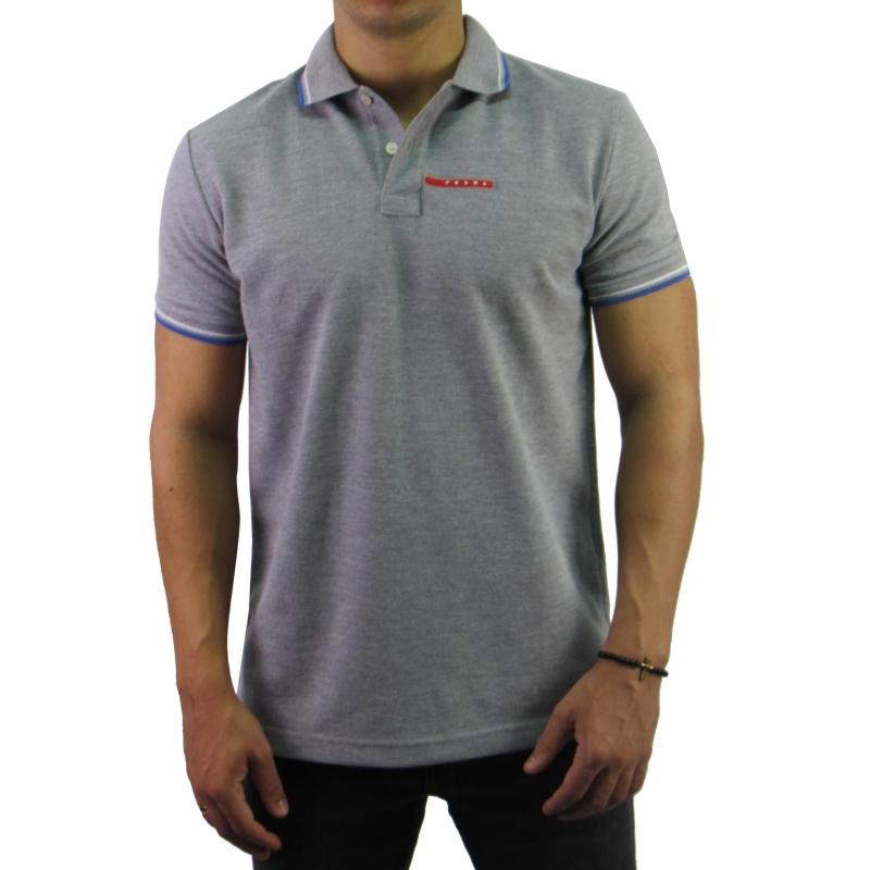 4a14655c6 Camiseta Polo Prada Cinza | Men's Mall - Moda Masculina | Acessórios ...