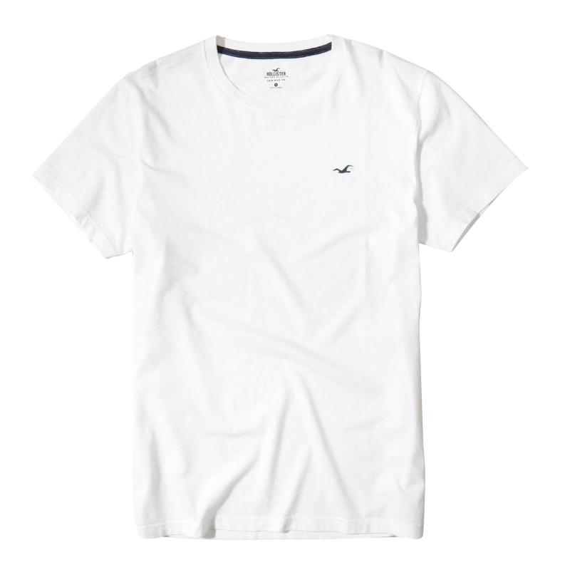 7a66a421c0 Camiseta Hollister Branca