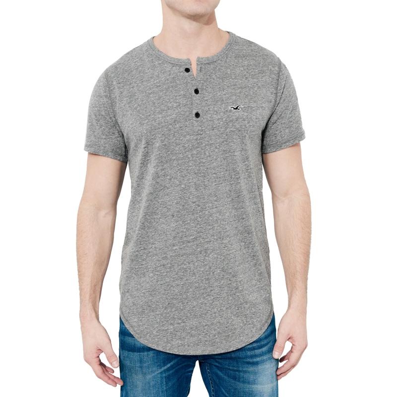 Camiseta Hollister Long  8251aef0bcef6